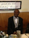Mr. Ronald Gibbs, 60 years young!