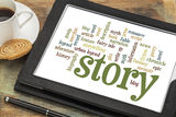 story-storytelling-word-clouds-cloud-words-tags-related-to-myth-legend-digital-tablet-35485420